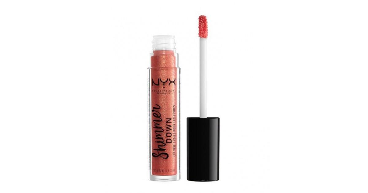 Nyx Professional Makeup - Brillo de labios Shimmer Down - SDLV04: Pout & About