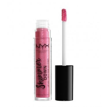 Nyx Professional Makeup - Brillo de labios Shimmer Down - SDLV03: Pink Pong