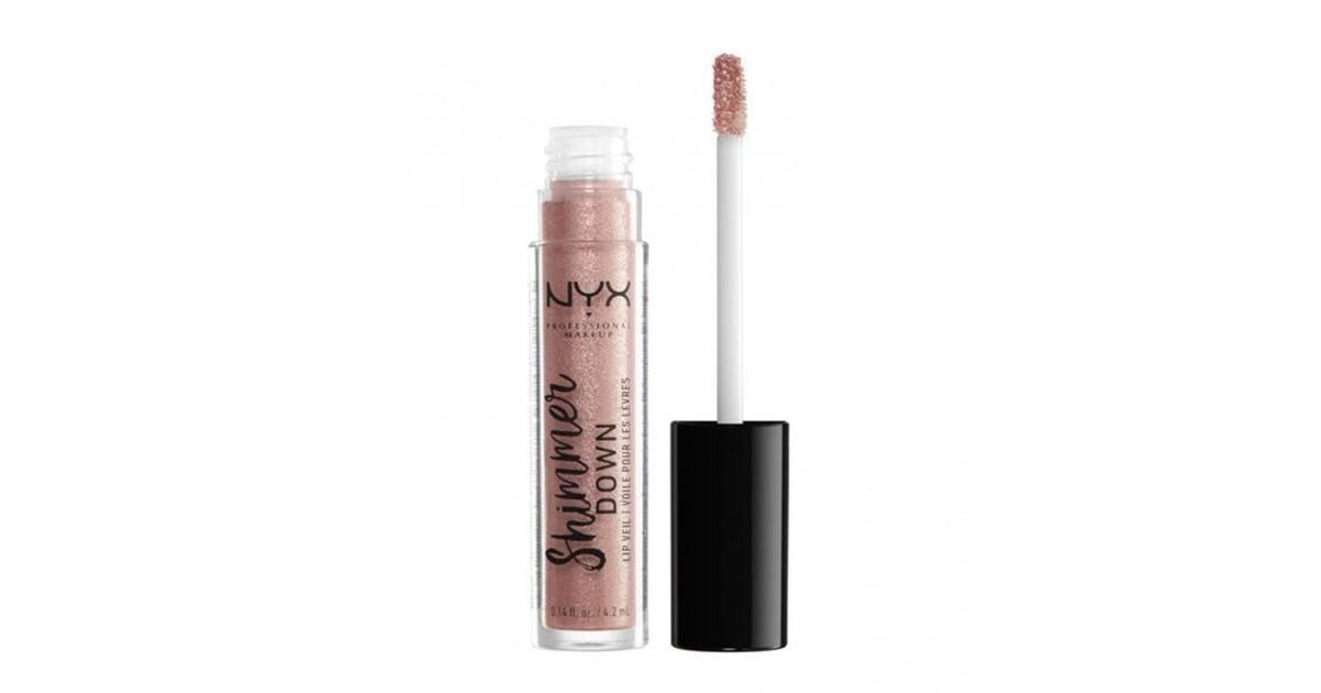 Nyx Professional Makeup - Brillo de labios Shimmer Down - SDLV05: Glazing It