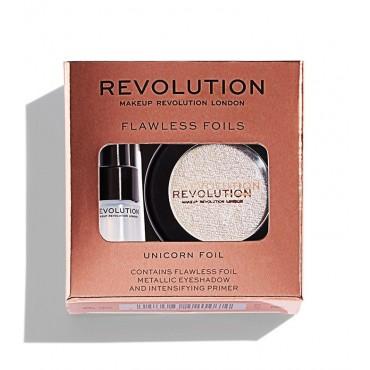 Makeup Revolution - Sombra de ojos + Primer Flawless Foils - Unicorn Foil