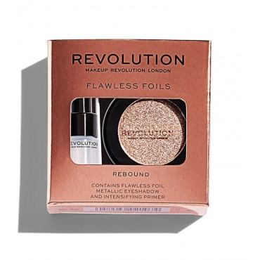 Makeup Revolution - Sombra de ojos + Primer Flawless Foils - Rebound