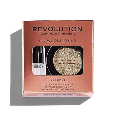 Makeup Revolution - Sombra de ojos + Primer Flawless Foils - Retreat