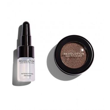 Makeup Revolution - Sombra de ojos + Primer Flawless Foils - Overcome