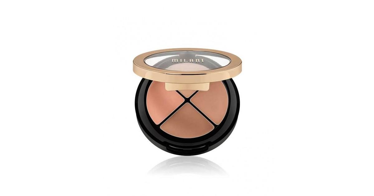 Milani - Paleta de correctores Conceal + Perfect All in One - 03: Medium to dark
