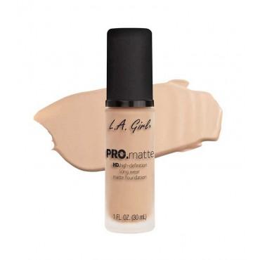 L.A. Girl - Base de Maquillaje Fluida PRO Matte - GLM674: Natural