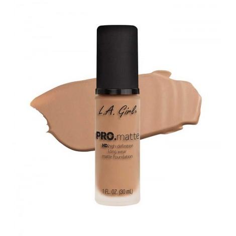 L.A. Girl - Base de Maquillaje Fluida PRO Matte - GLM678: Sand