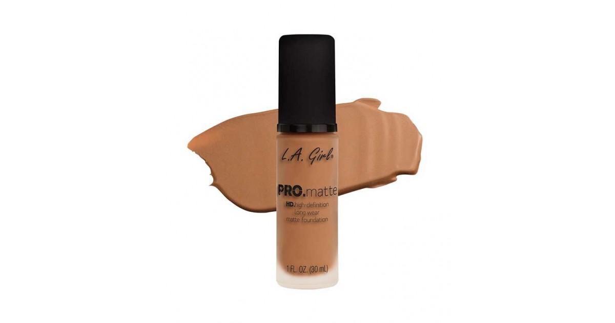 L.A. Girl - Base de Maquillaje Fluida PRO Matte - GLM679: Warm Sienna