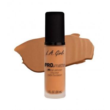 L.A. Girl - Base de Maquillaje Fluida PRO Matte - GLM680: