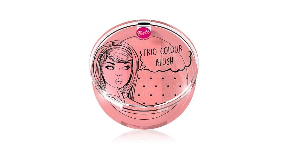 Bell - Trío de coloretes Colour - 01: Peach me up!