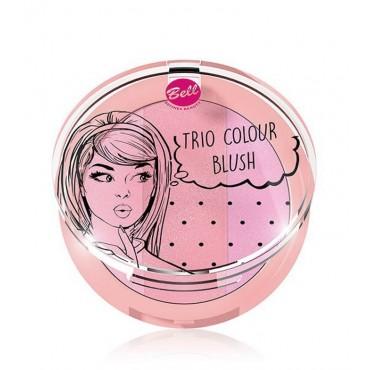 Bell - Trío de coloretes Colour - 02: Pink-a-licious