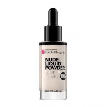 Bell - Hypo - Nude Liquid Powder - Base de Maquillaje Hipoalergénica - 01: Porcelain