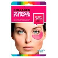 Parches de colágeno regeneradores e hidratantes para el contorno de ojos con VINO TINTO