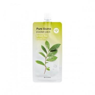 Missha - Pure Source Pocket Pack (Té Verde)