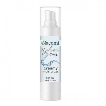 Nacomi - Crema Facial con Ácido Hialurónico - Hidratación Intensa