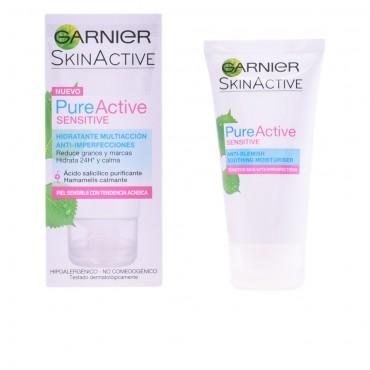 pure active crema hidratante piel sensible 50 ml