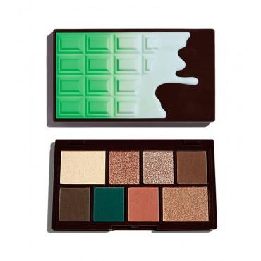I Heart Revolution - Paleta de Sombras de ojos Chocolate Mini - Choc Mint