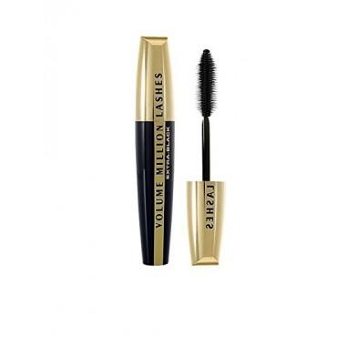 L'Oreal Makeup - Mascara de Pestañas Volume million Lashes Extra Black 9 ml