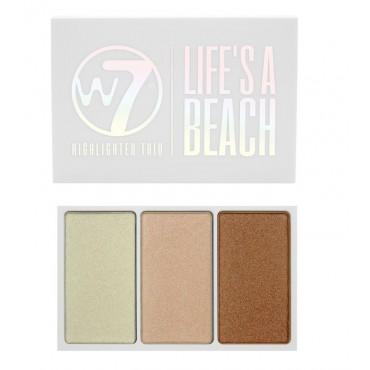 W7 - Trio de iluminadores - Life's a Beach