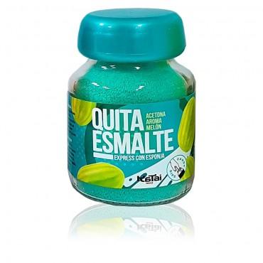 Katai Nails - Quitaesmalte en esponja con Acetona - Aroma Melón