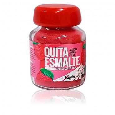 Katai Nails - Quitaesmalte en esponja con Acetona - Aroma Fresa
