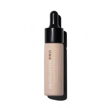 Revolution Pro - Base de maquillaje Drops - F2
