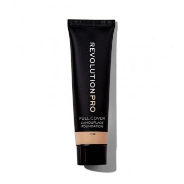 Revolution Pro - Base de maquillaje Full Cover Camouflage - F10