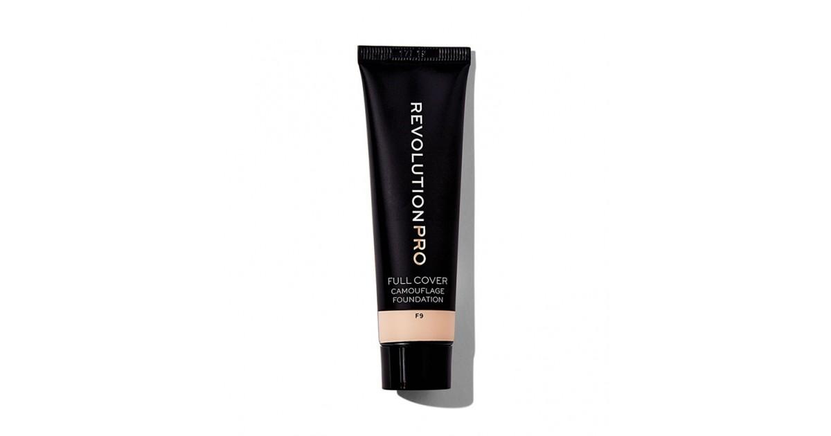 Revolution Pro - Base de maquillaje Full Cover Camouflage - F9