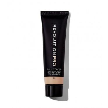 Revolution Pro - Base de maquillaje Full Cover Camouflage - F8