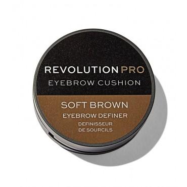 Revolution Pro - Tinte para cejas Cushion - Soft Brown