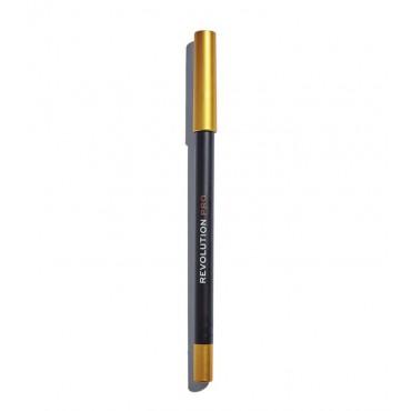Revolution Pro - Delineador de ojos Supreme Pigment Gel - Gold