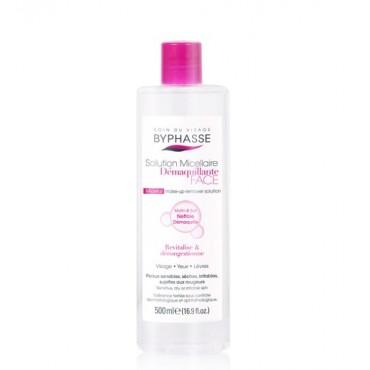 Byphasse - Solución micelar desmaquillante pieles sensibles, secas e irritadas 500ml