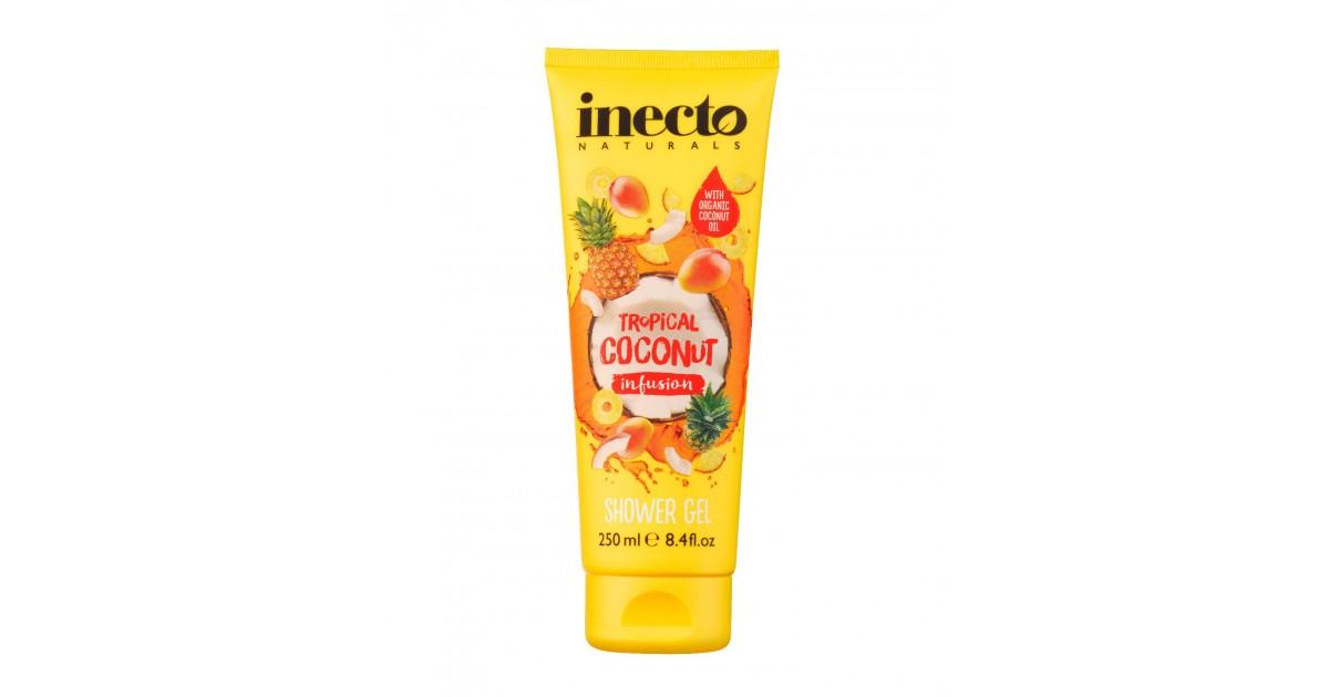 Inecto Naturals - Gel de ducha Infusión de coco tropical