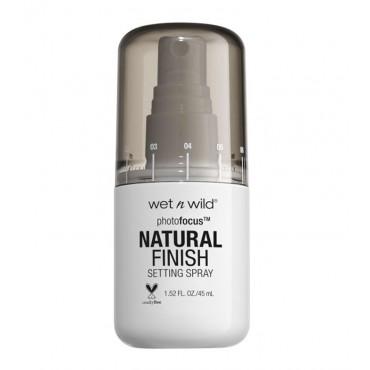 Wet N Wild - Spray Fijador Natural Finish Photofocus - E301A: Seal the Deal