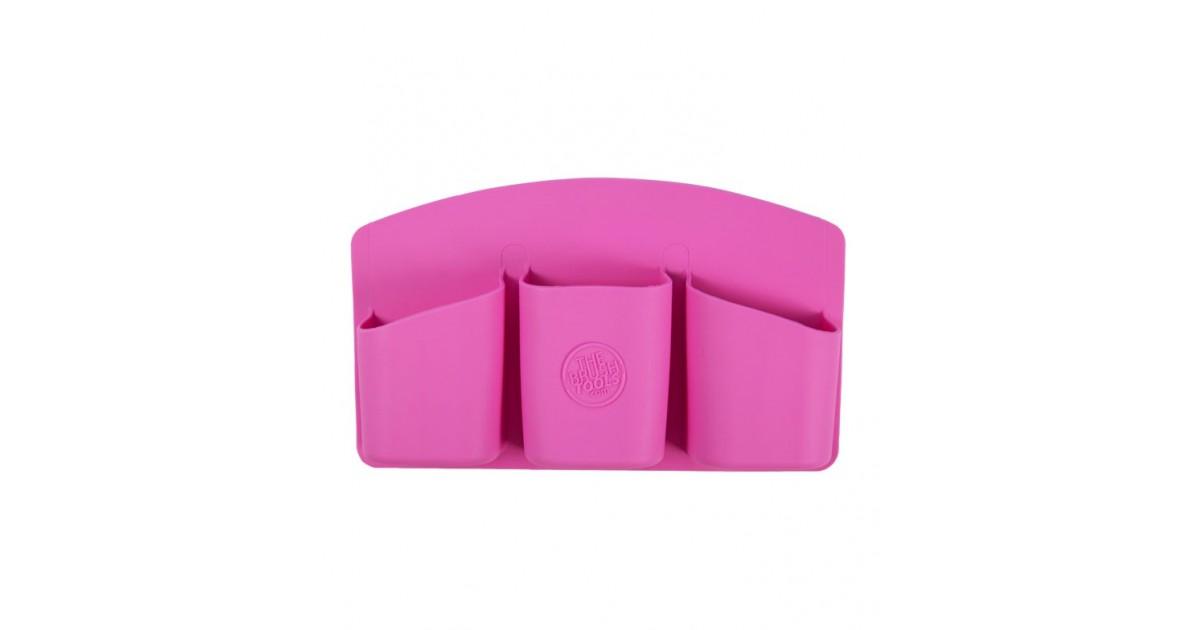 The Brush Tools - Soporte con Adhesivo para Herramientas de Maquillaje - Rosa