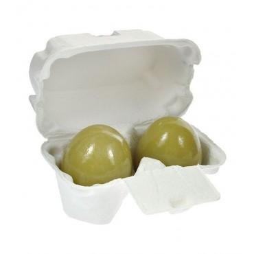 Holika Holika - Limpiador Facial de Té Verde con forma de huevo