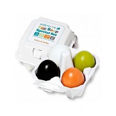Holika Holika - Set especial de jabón con forma de huevo