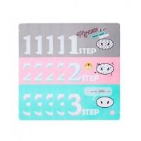 Holika Holika - Kit 5 piezas anti puntos negros en 3 pasos - Pig-nose