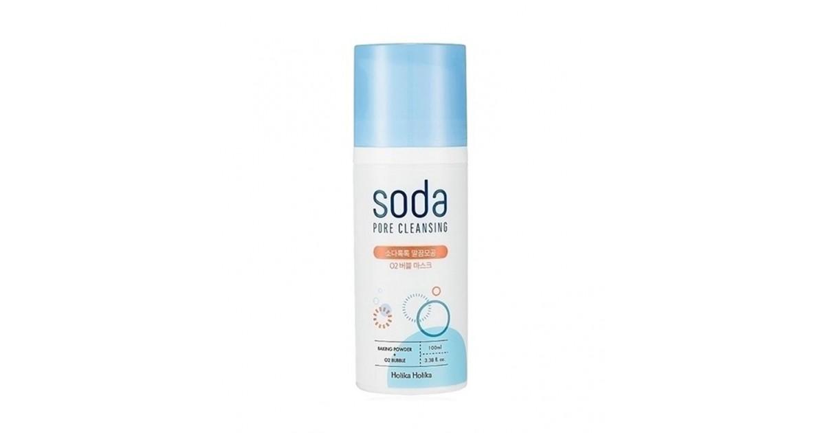 Holika Holika - Mascarilla facial de burbujas anti-poros Soda