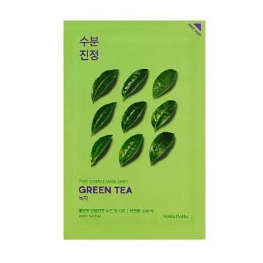 Holika Holika - Mascarilla de papel - Té verde - Calmante e hidratante