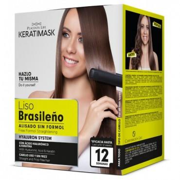 Be Natural - Liso Brasileño Kit Alisado sin Formol
