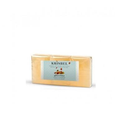 Krisbel - Jabón Glicerina - Coco y Glicerina - 3 x 125g