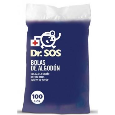 Dr. SOS - Bolas de algodón. 80 Uds.