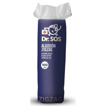 Dr. SOS - Bolsa de Algodón Ziz-Zag. 100gr