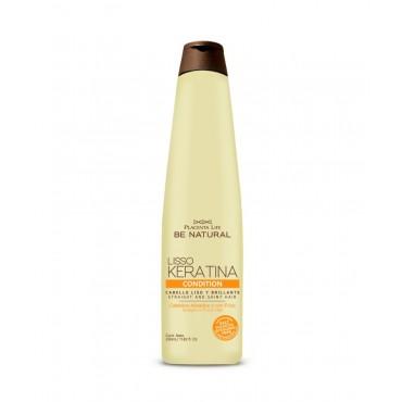 Be Natural - Lisso Keratina - Acondicionador con Keratina Hidrolizada - 350ml