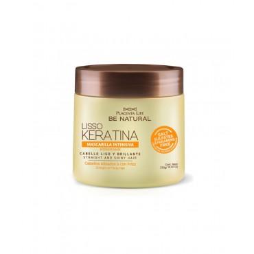 Be Natural - Lisso Keratina - Mascarilla con Keratina Hidrolizada - 350gr