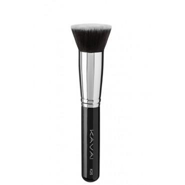 Kavai - K25 - Brocha de corte recto grande para base de maquillaje