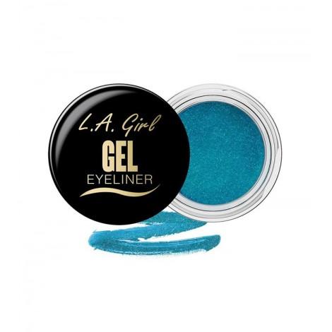 L.A. Girl - Delineador de ojos en gel - GEL733: Mermaid Teal Frost