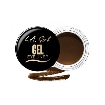 L.A. Girl - Delineador de ojos en gel - GEL735: Rich Chocolate Brown