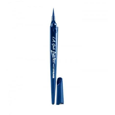 L.A Girl - Delineador Line Art Matte - GLE714: Cobalt