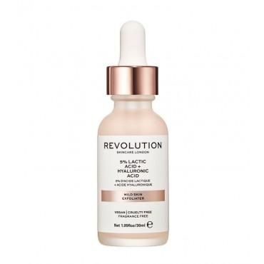Revolution Skincare - Exfoliante facial - 5% Ácido láctico + Ácido hialurónico